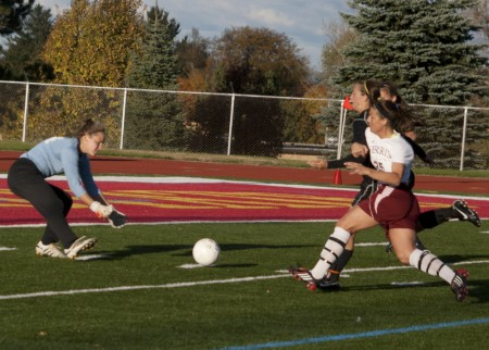 Shut Down: Ferris State soccer lost to Grand Valley this weekend, 6-0. Despite the loss, it didn't defer the Bulldogs from qualifying for the GLIAC tournament. Photo By: Kate Dupon | Photo Editor