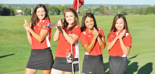 The Ferris State women's golf team is locked and loaded and ready to make a statement in Kentucky this weekend.
