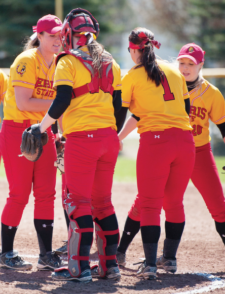 The softball team has built a 19-9 overall record so far under new head coach Wally King, and has begun conference play 4-0.